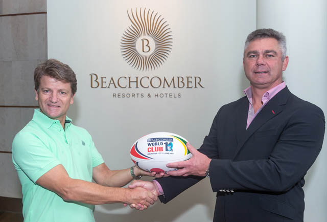 Beachcomber World Club 10s gets the ball rolling!