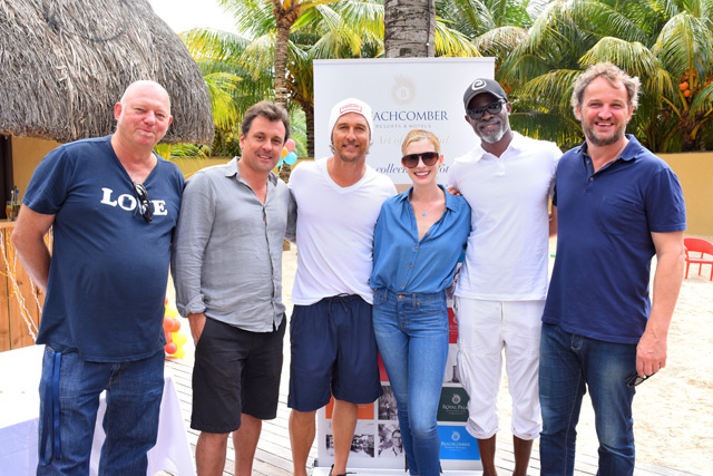 An exceptional event: Hollywood Stars Discover Beautiful Neighbours by Beachcomber