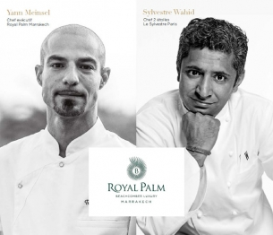 Royal Palm Beachcomber Luxury Marrakech Welcomes Michelin-Starred Chef for an Exclusive Four Course Menu