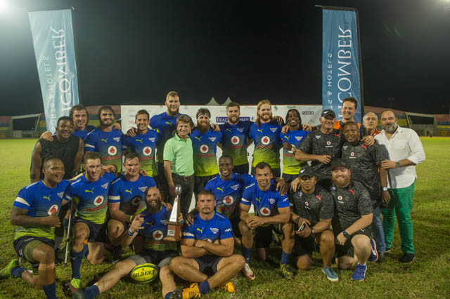 Vodacom Bulls lift the trophy in another thrilling edition of the Beachcomber World Club 10s