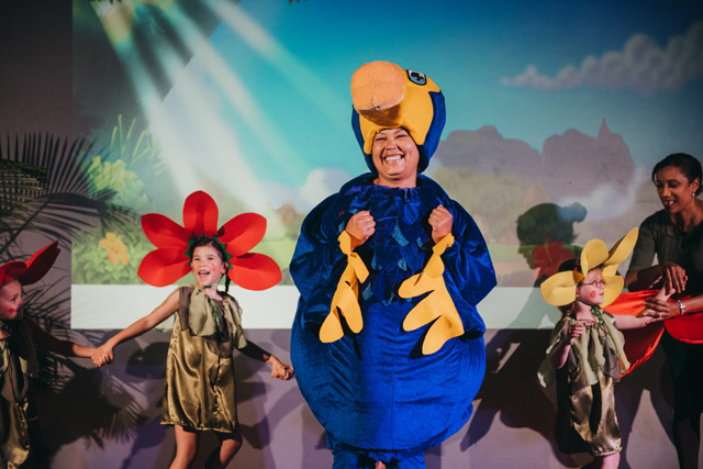 'The Dodo who wanted to fly' de Katrin Caine: Le fabuleux spectacle des Kids Club Beachcomber