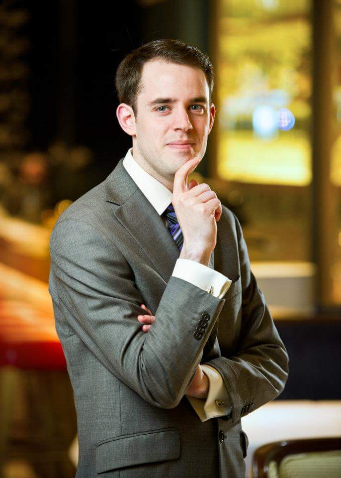A new Head Sommelier at the Royal Palm Beachcomber Luxury