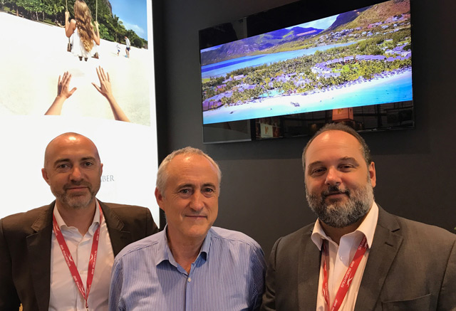 Beachcomber's new brand film launched at the IFTM Top Resa tourism trade fair