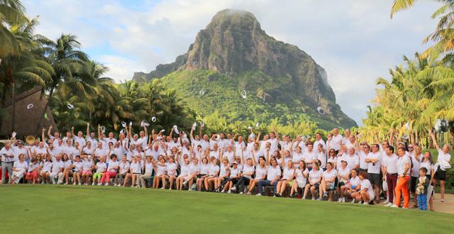 20th edition of Tourigolf - 200 participants on the Paradis Beachcomber Golf Course