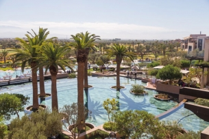 Get into the green at Royal Palm Marrakech