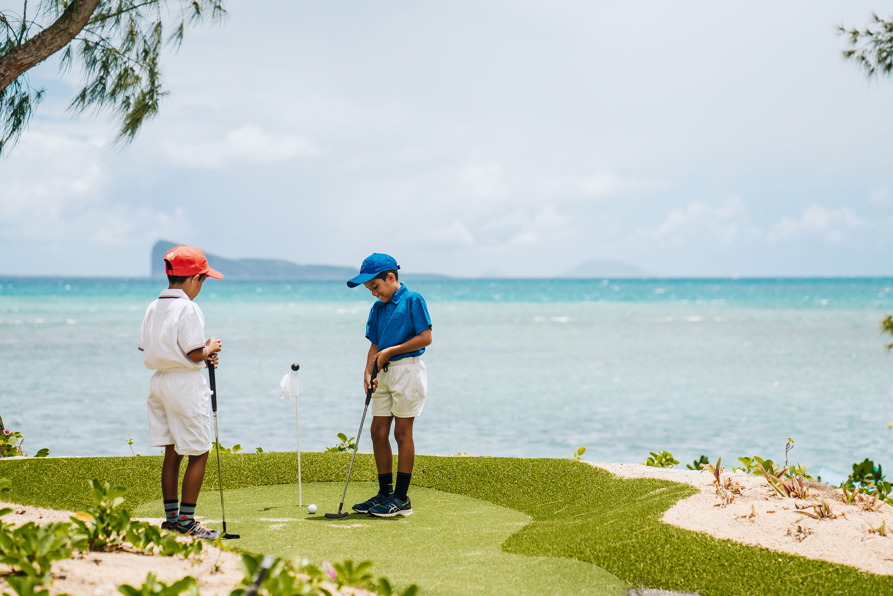 A new mini-golf at the Canonnier Beachcomber Golf Resort & Spa: it's time for tee!