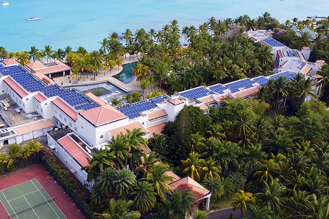 Renewable Energy :  Beachcomber Resorts & Hotels acquires solar panels