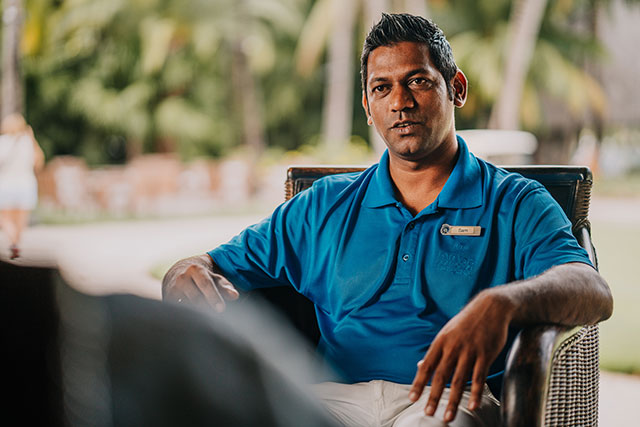 Sam Babboo, Golf Operations Manager, Paradis Golf Club