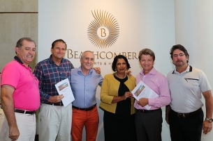 Beachcomber seals an exclusive partnership with Mont Choisy Le Golf
