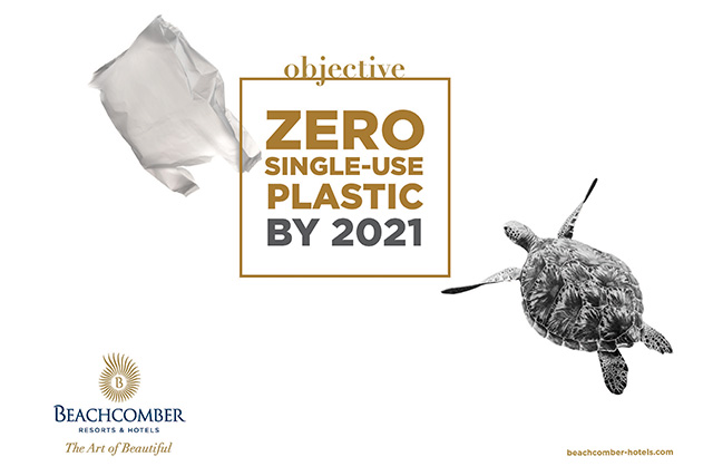 Sustainable development: Beachcomber Resorts & Hotels sets the target of achieving zero plastic waste