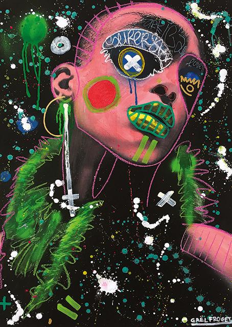 Gaël Froget: Art vandal