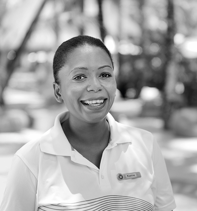 Korine Charlot, Kids Club Supervisor, Canonnier Beachcomber Golf Resort & Spa:
