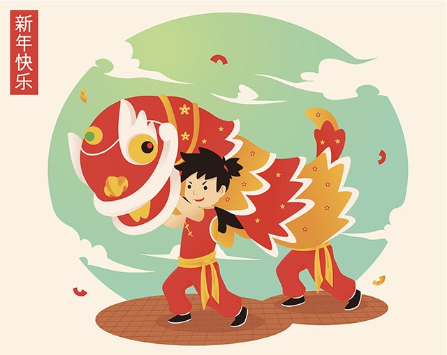 The Chinese Dragons