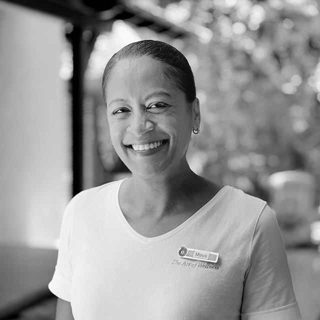 "Maya Hippolyte, Spa Supervisor - Dinarobin Beachcomber Golf Resort & Spa : ""The best journey is the journey of self-discovery."""