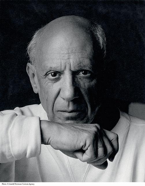 Picasso, le premier voyage à l'île Maurice