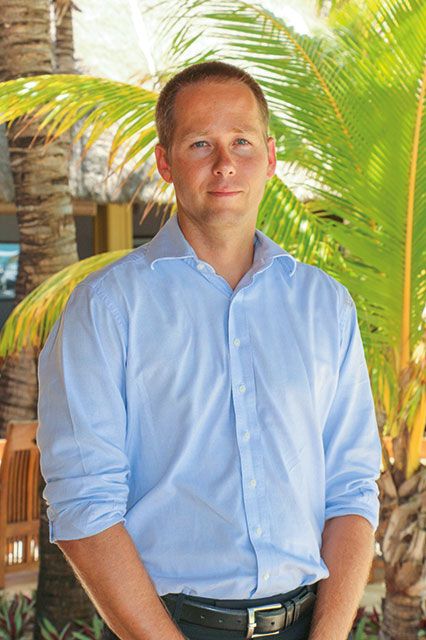 Raymond Le Court de Billot, Villa Executive of Paradis Beachcomber