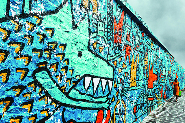 Walls talk...