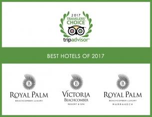 Tripadvisor distinguishes Beachcomber Resorts & Hotels this year again
