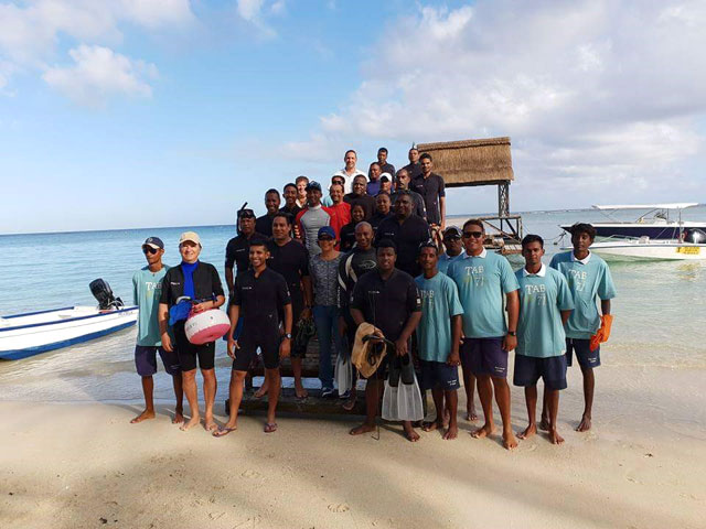Beachcomber takes action to help protect the environment